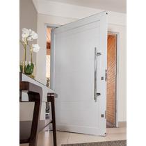 Porta Pivotante De Alumínio 1200x2100- Lisa Completa