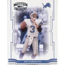 2005 Throwback Threads Joey Harrington Detroit Lions Qb