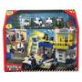 Tonka Town Estación De Policia Con Figuras Y Accesorios