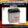 Bateria Yuasa 12n14-3a Moto Kawasaki Klr 650 Y Mas C/liquido