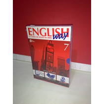 Livro, Cd, Dv English Way- Vol 7 O Curso De Inglês Da Abril