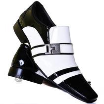 Sapato Social De Verniz Luxo! 100% Couro + Garantia 3 Meses