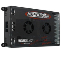 Móduloampli/soundigital Evo4x200 Sd800.4 + Q Taramps Stetsom