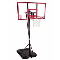 Tablero De Basket 44 Con Aro, Poste Y Base Spalding