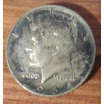 Half Dollar Kennedy De Plata