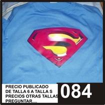 Franelas Superman Y Linterna Verde Aclave
