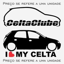 Adesivo Clube Do / Agile Astra Audi Celta Chevett + Outros