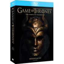 Remate Game Of Thrones Temp 1-5 Blu-ray - Envío Gratis