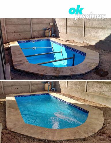 2019 6x3 piscina de fibra de vidrio inst for Piscinas de fibra de vidrio usadas