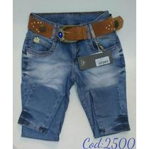 Calça Jeans Nova Oppnus Feminina Lycra Cós Médio 2500