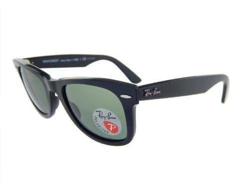 040bcec6f242a Ray Ban Rb2140 901 58 Orginal Wayfarer Negro   G-15 Xlt Pol -   208.000 en  Mercado Libre
