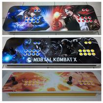 Controle Arcade Duplo 95cm - Pc E Ps3 (com Entrada Usb)