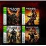 Gears Of War 1 2 3 Judgment 4 Juegos Xbox 360