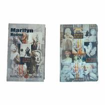 Cofre Livro Camuflado Porta Joia Aço Capa Exclusiva Marilyn.