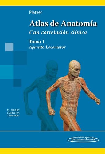 Atlas De Anatomía Aparato Locomotor. Tomo 1 Platzer - $ 1.479,00 en ...