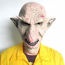 Máscara Látex Para Festas, Goblin Super Realística - Pronta