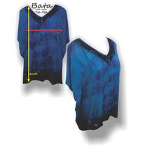 Blusa Bata Viscose Tye Dye Tamanho Grande Blusa Plus Size