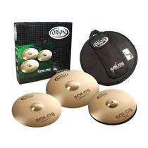 Set De Pratos Orion Solo Pro Pr90 - 14 /16 /20 Com Bag