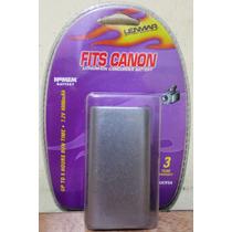 Remplazo Bat Camaras Filmadoras Canon Lic924 Lenmar