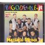 Cd Pagode E Axé No Jt - Matéria Prima 21, Original