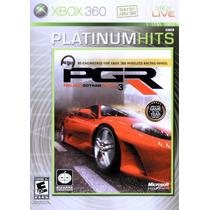 Jogo Prg Project Gotham Racing 3 Xbox 360 X360 Corrida Top