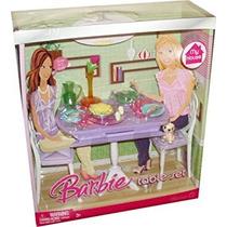 Juguete Barbie Mi Casa Set De Accesorios - Mesa De Comedor