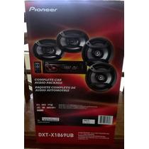 Pioneer Dxt-x1869ub Kit Estereo Cd/usb Mp3 + 4 Parlantes!!!