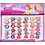 36 Anel Infantil Princesas Disney Colecionável Regulável