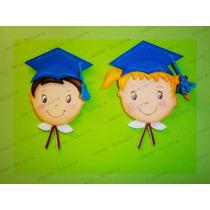 Distintivos,recuerdos Graduación Escolar Foami