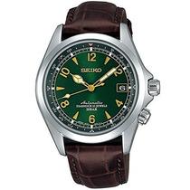 Relógio Seiko Sarb017 Alpinist Verde Automatico Japan