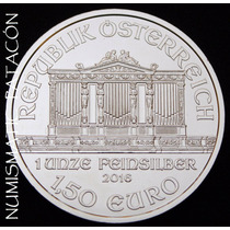 Moneda Austria 1 Onza De Plata Fina 999 - Año 2016