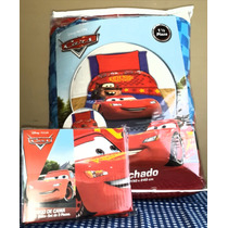 Acolchados Infantiles + Sabana Piñata Cars Original