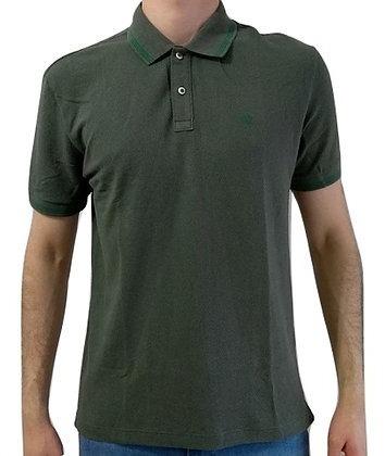 0d9fe1c7a Camisa Polo Forum Piquet Frisos Masculina Verde Escuro - R  134