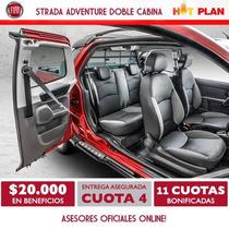 Fiat Strada Adeventure Doble Cabina 3 Puertas $315000 (sc)