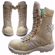 Bota Militar Khaki Tipo Swat Tactica Ligera Envio Gratis