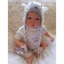 Bebê Reborn Davi Barato Lindo 100% Satisfação