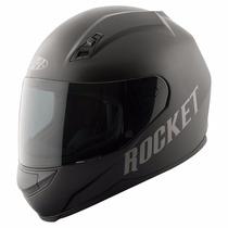 Casco Para Motos Joe Rocket Rkt700 Solid Black