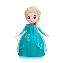 Boneca Elsa Que Fala 8 Frases Do Filme Frozen Elka 24 Cm