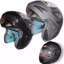Casco Rebatible Max V-200 Ideal Verano Homologado! Wagner