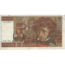 Francia Billete De 10 Francos Año 1975 Pick 150b - Vf-