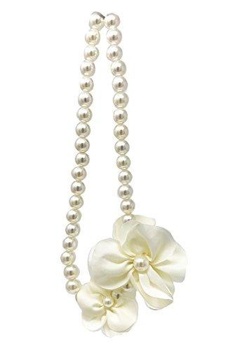 0442d7cd2e16 Collar De Perlas De Flores De Frills Para Niñas  El Acces ...