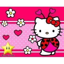 Kit Imprimible Hello Kitty Mariquita Diseña Tarjetas