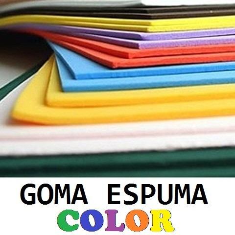 bca407d23b7 Goma Espuma Placas De Color 2mx1mx1cm Fabrica -   240
