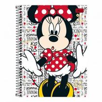 Caderno Universitário 10 Matérias Minnie 200 Folhas Stop