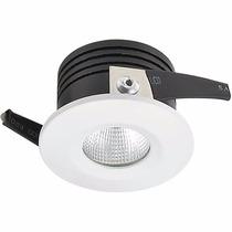 Kit 5 Lampadas Led 3w Branco Frio Spot Redondo Bivolt 4010b