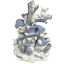 Decoración Grupo Encore Snow Buddies Alrededor Del Árbol De