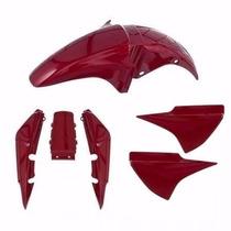Kit Plástico Carenagem Titan150 Ano 2004/2005 Vermelho