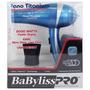Secadora Babyliss Pro Nanooionic Titanium 2000w Babnt5548