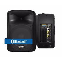 Bafle Amplificado Potenciado Skp Sk3p 1000w Usb Eq Bluetooth