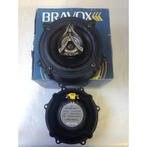 Kit 2 Alto Falantes Bravox Triaxial Tr55 Gm1 Celta Prisma